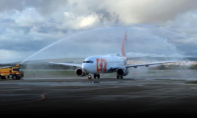 Aviação: Gol retoma voos em Vitória da Conquista. Primeiro pouso ...